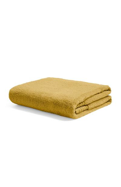 Senfgelbes Handtuch