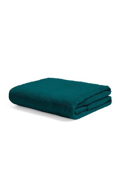 Blaugrünes Handtuch
