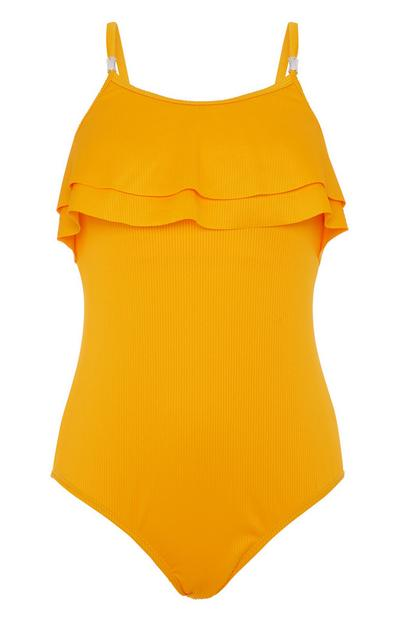 Gelber Badeanzug