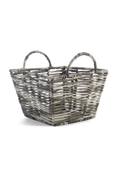 Grey Small Basket