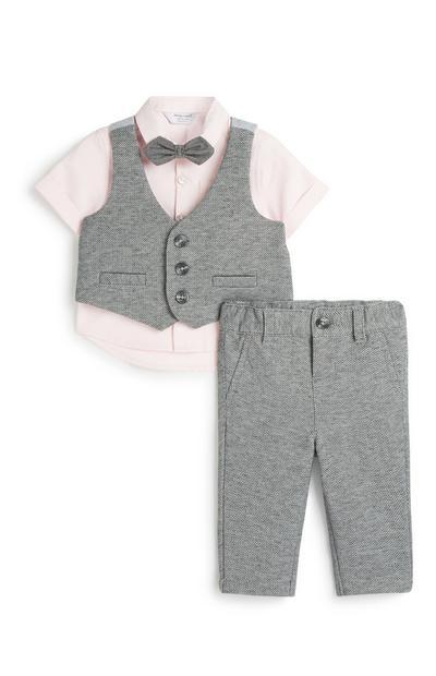 4-teiliges, formelles Set für Babys (J)