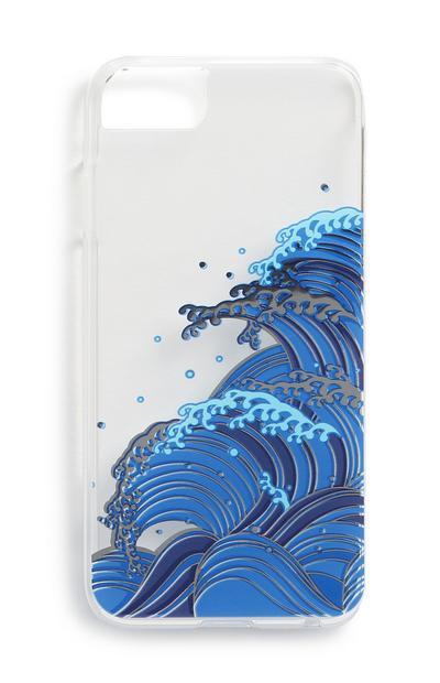 Handyhülle mit Wellenprint