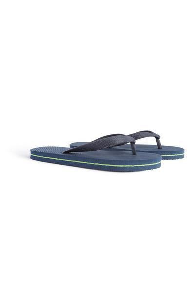 Marineblaue Flipflops (Teeny Boys)