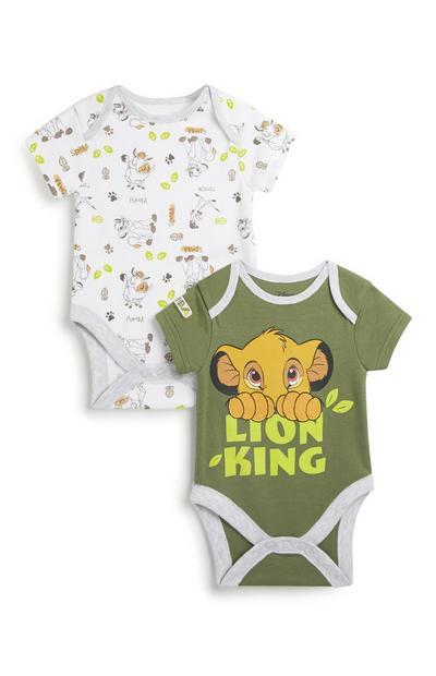 """König d. Löwen"" Body f. Babys, 2er-Pack"