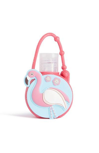 Reinigungsgel im Flamingo-Design