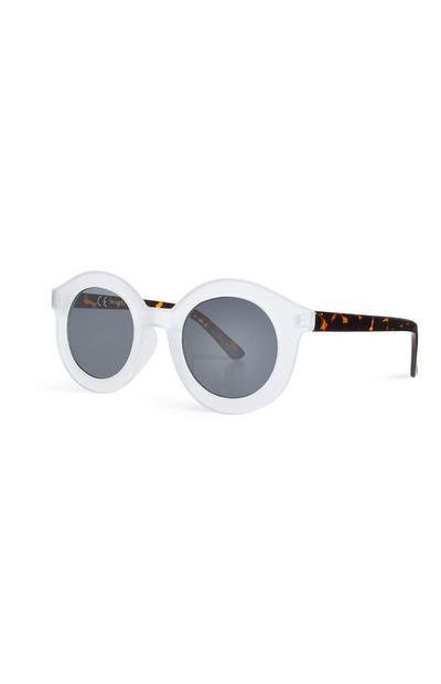 Sonnenbrille mit transparenter Fassung