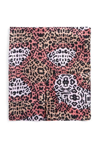Tuch mit Animalprint