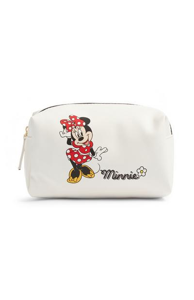 "Weiße ""Minnie Maus"" Make-up-Tasche"