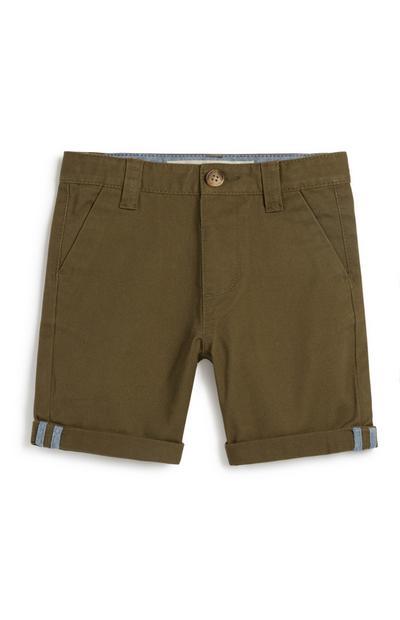 Chino-Shorts in Khaki (kleine Jungen)