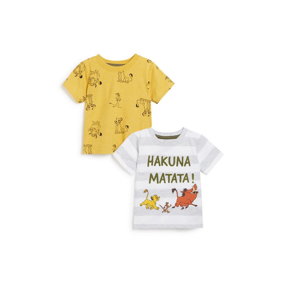 baby-boy-lion-king-2pk-t-shirt by primark