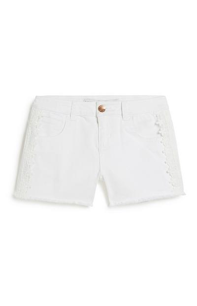 Weiße Shorts (Teeny Girls)