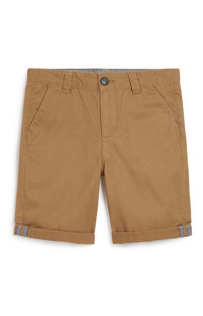 Hellbraune Chino-Shorts (Teeny Boys)