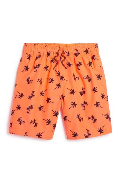 Shorts mit Palmenmuster (Teeny Boys)