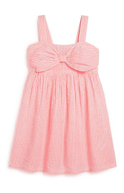 Gestreiftes Kleid (Mädchen)