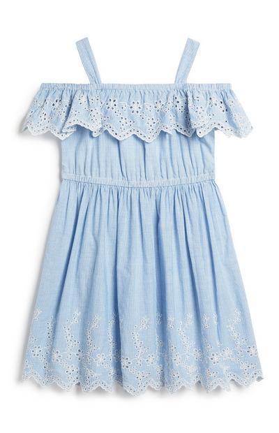 Bardot-Kleid (kleine Mädchen)