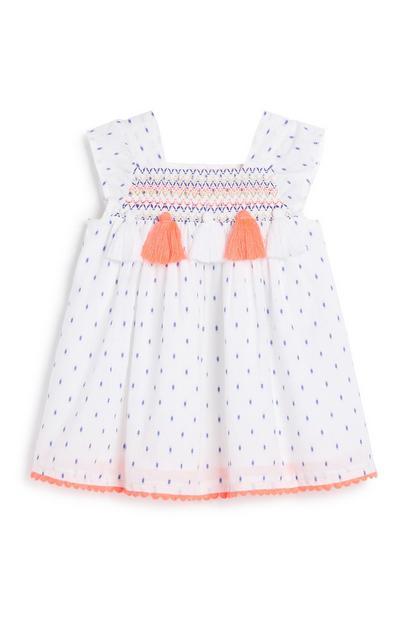 Kleid mit Quasten für Babys (M)