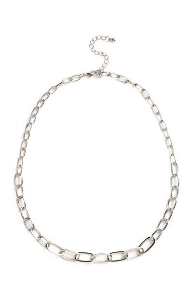 Weiße Halskette