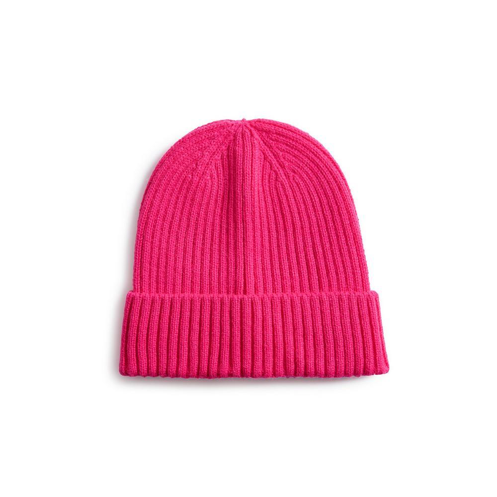 neon-pink-beanie by primark