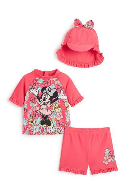 """""""Minnie"""" Sonnenanzug-Set für Babys (M)"""
