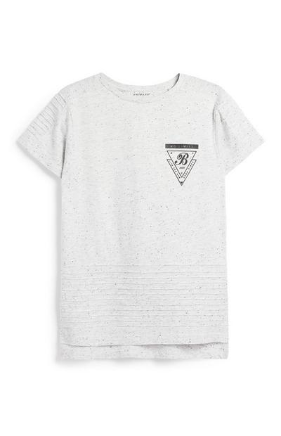 Strukturiertes T-Shirt (Teeny Boys)