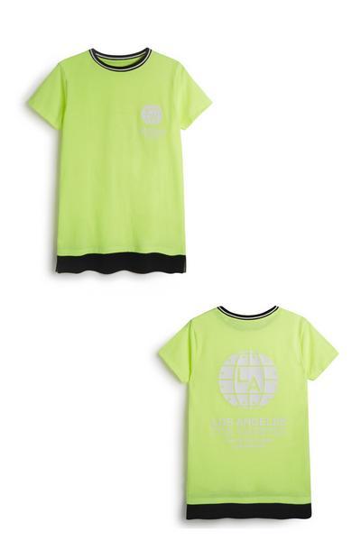 Neonfarbenes Top (Teeny Boys)