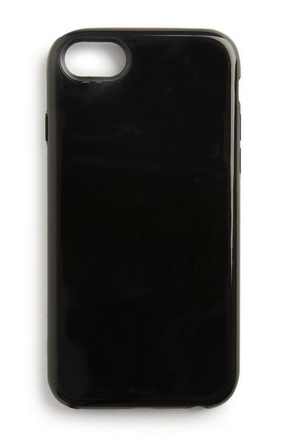 Schwarze Handyhülle