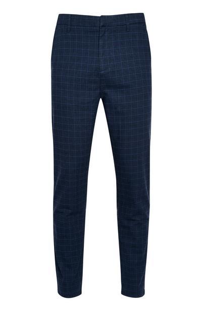 Blue Slim Trouser