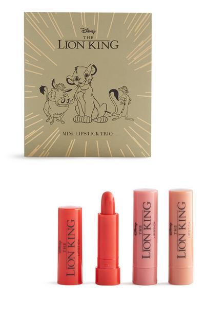 Lion King Lipstick Trio