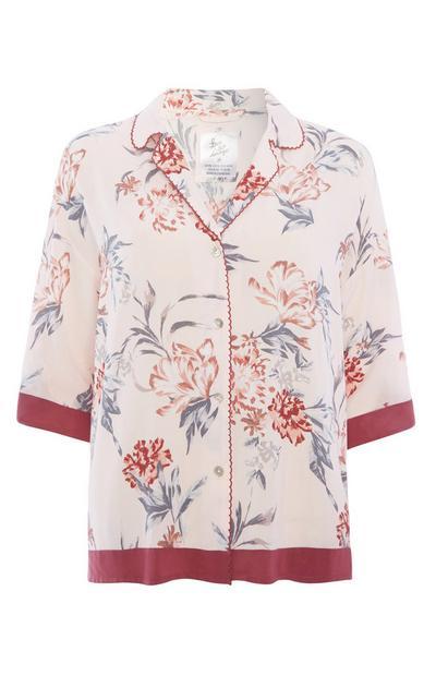 Floral Pyjama Shirt