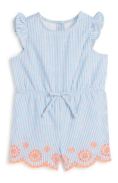 Baby Girl Stripe Playsuit
