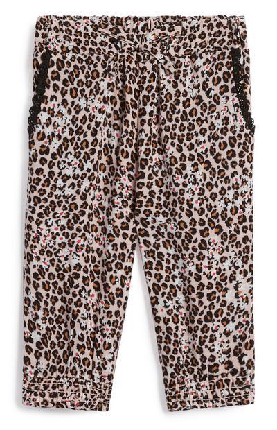 Hose mit Leopardenmuster für Babys (M)