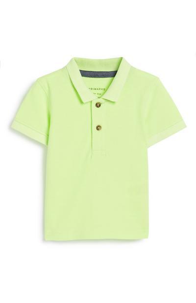 Neonfarbenes Poloshirt für Babys (J)