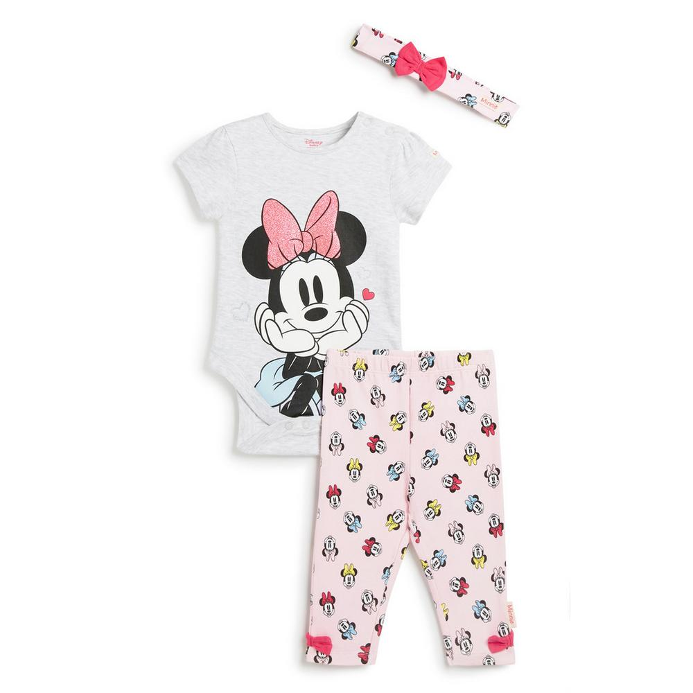 minnie-mouse-3pc-outfit-set by primark
