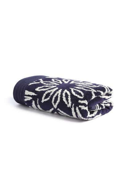 Yarn Dye Hand Towel