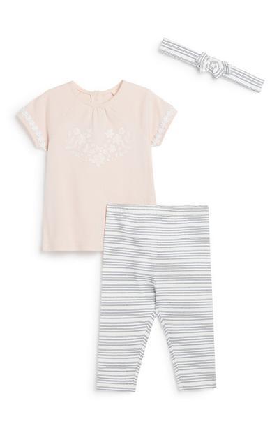 3-teiliges Outfit für Neugeborene (M)
