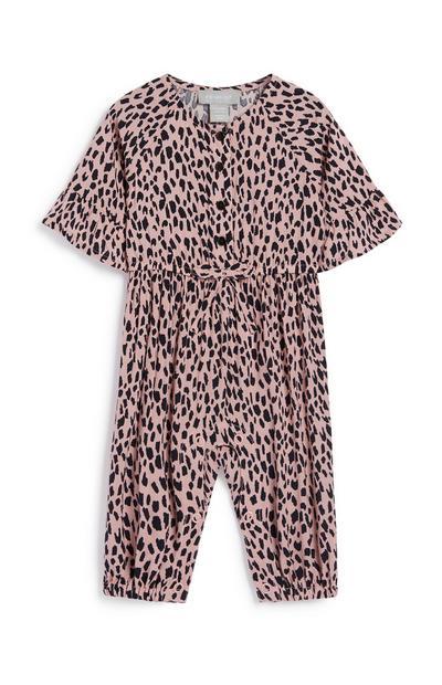 Jumpsuit mit Leopardenmuster für Babys (M)