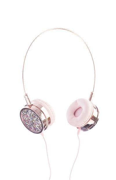 Glitzernde Kopfhörer