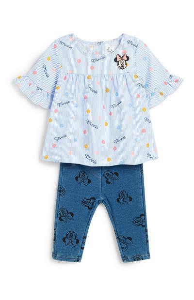 """""""Minnie Maus"""" Bluse für Babys (M)"""