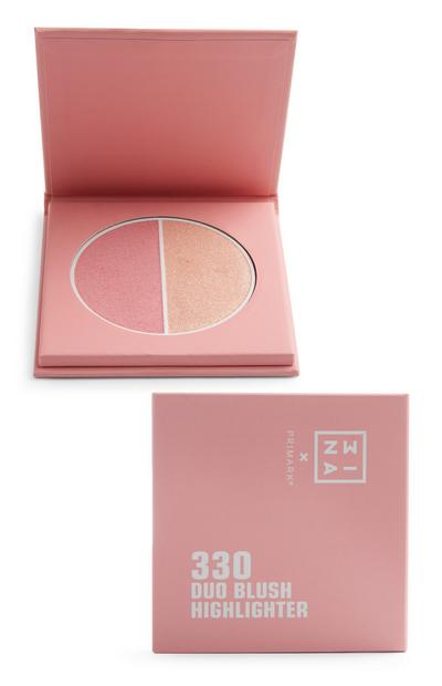 "Blassrosa ""Mina"" Duo-Highlighter"
