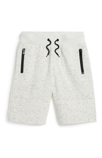 Ecrufarbene Shorts (Teeny Boys)