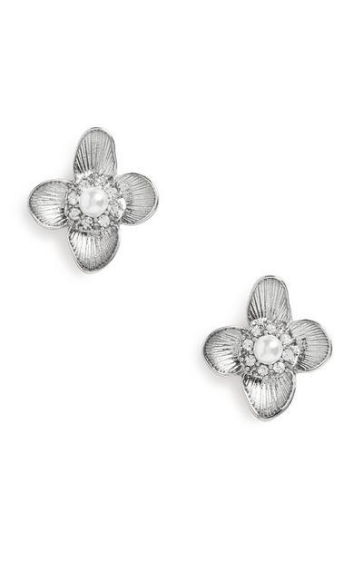 Blumenohrringe
