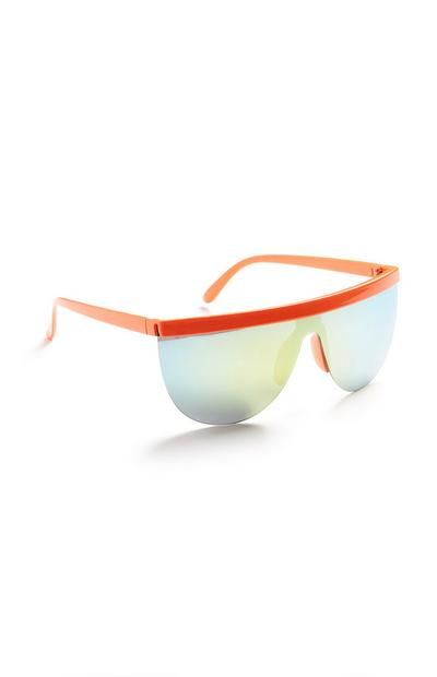 Sportbrille in Neonorange