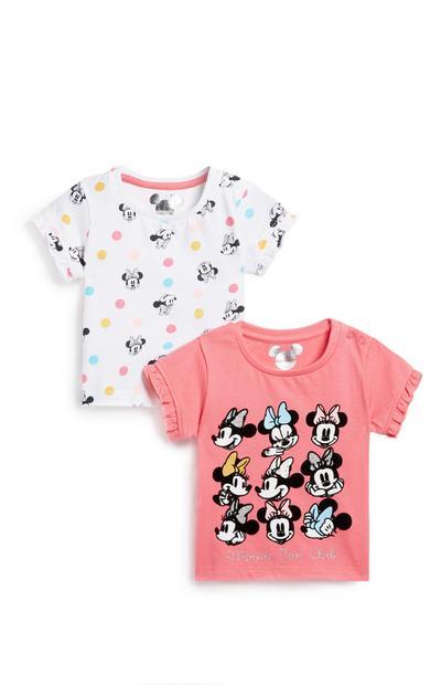"""""""Minnie Maus"""" T-Shirt für Babys (M), 2er-Pack"""