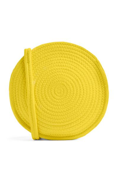 Yellow Circualr Bag