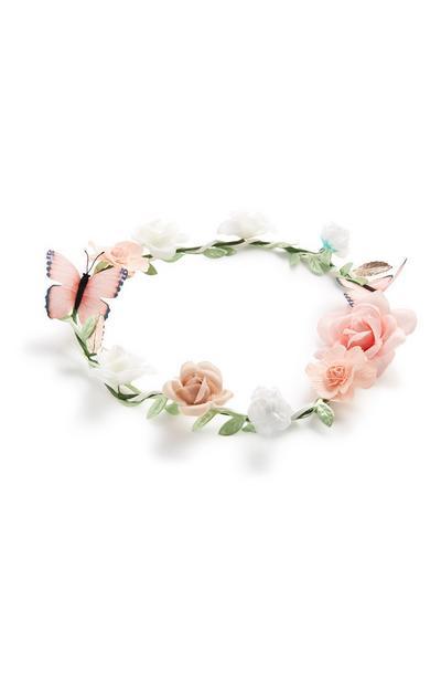 Haarkranz mit Blumen