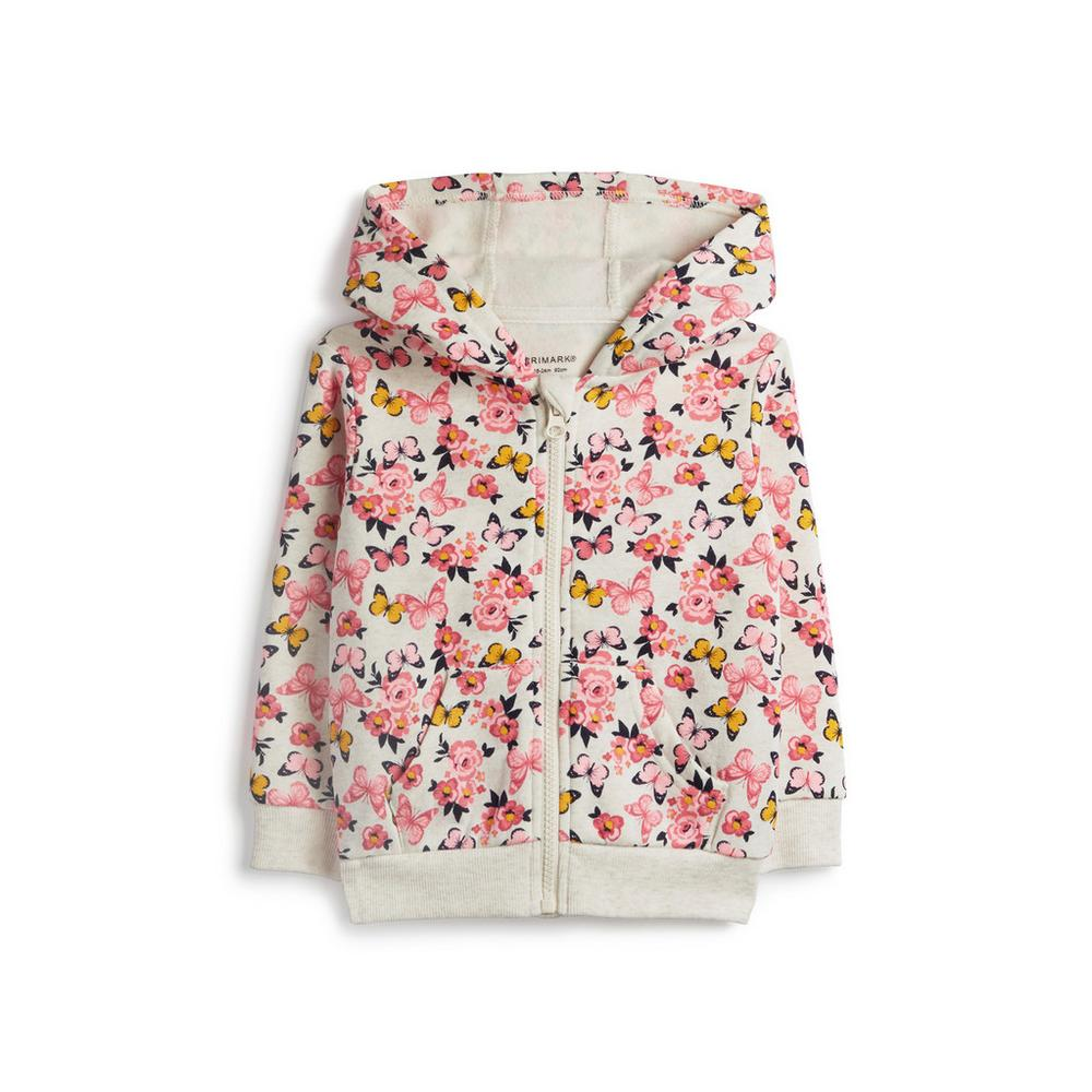 419f710f6 Baby Girl Butterfly Hoodie   Baby Girl Shirts & Jackets   Baby Girl ...