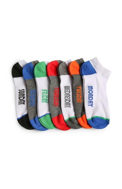Weekday Socks 7Pk