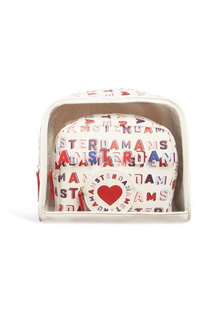 """""""Amsterdam"""" Tasche, 3er-Pack"""