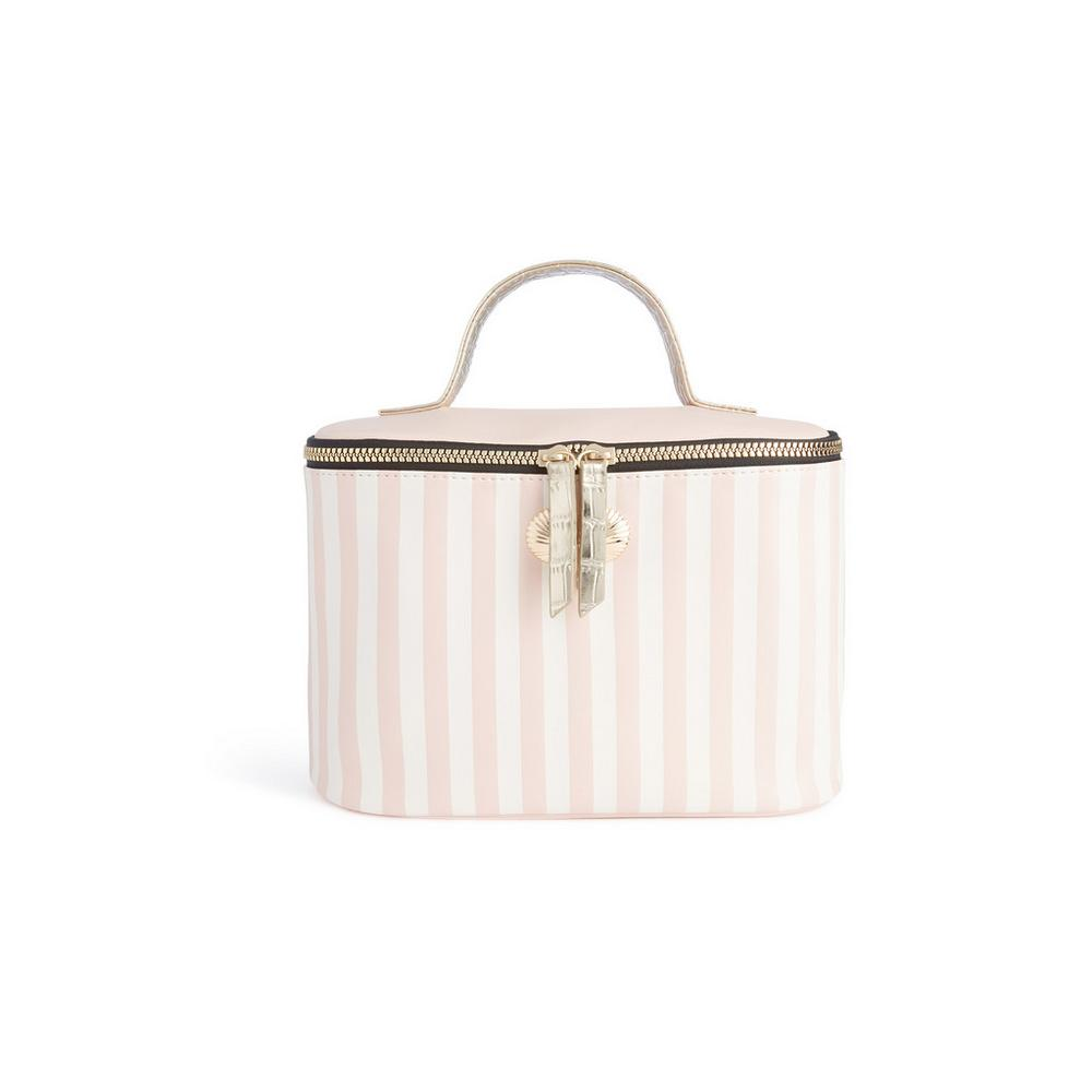 pink-stripe-box-bag by primark