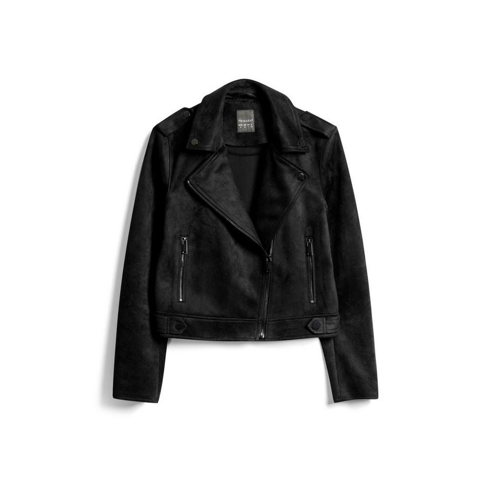 buying new new concept order online Black Faux Suede Jacket   Coats   Coats & jackets   Clothing ...